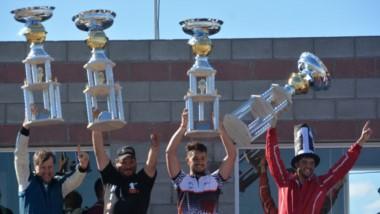Los campeones: Sergio Larreguy, Sebastián Marsicano, Emanuel Abdala y Sebastian Rodríguez.