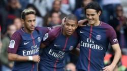 M'bappe y Neymar anotaron los tantos en el triunfo del PSG.