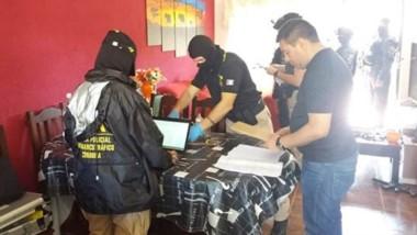Los procedimientos locales se realizaron en el barrio INTA de Trelew y en el ingreso a la localidad de Gaiman.