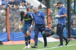 A pesar de su esfuerzo, Cristian Pavón no podrá jugar la superfinal en el Monumental.