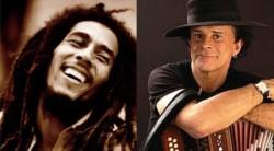 Bob Marley y Tarragó Ros, dos baluartes de la música de sus países.