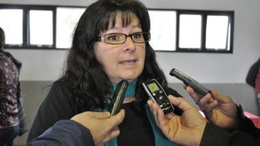 Lorena  Marín, secretaria de Turismo, Cultura y Deportes.