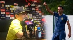 """Maradona: """"Scaloni no tiene la culpa de estar ahí, pero tenemos un problema si dice que quiere ir al Mundial""""-"""