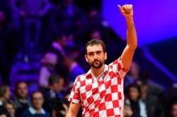 Marin Cilic venció a Jo- Wilfried Tsonga por 6-3, 7-5, 6-4.