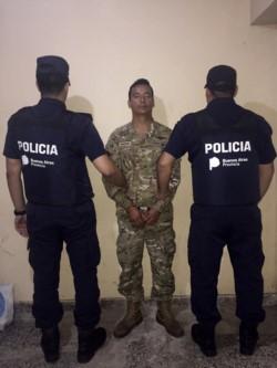 El esposo de la víctima, detenido este viernes,  pertenece a las Fuerzas Armadas.