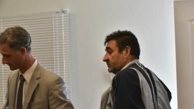 """Dúo. D´Antonio (izquierda) ejerció la defensa de """"Tato"""" Ramón, que seguirá preso en una Comisaría de Trelew."""