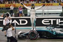 Lewis Hamilton consiguió su undécima pole del año en Abu Dhabi este sábado.
