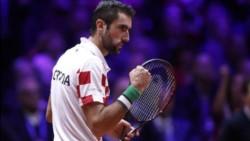 Cilic frotó la lámpara, cerró el partido y le dio la segunda Copa Davis a Croacia.