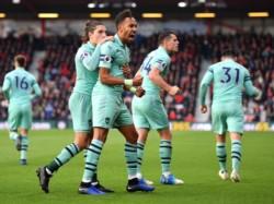 Arsenal se quedó con la victoria este domingo en su visita al Bournemouth.