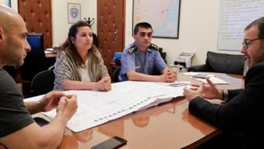 Jurisdicciones. Provincia y capital unen esfuerzos para poder construir una sede adecuada a la Policía.