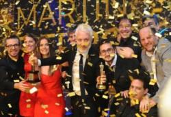 Kusnetzoff se alzó con el galardón a Mejor Conducción Masculina, por Perros de la calle, en la ceremonia que se realizó anoche en el Hotel Sheraton.