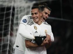 En la Liga no arranca, pero en la Champions en Real Madrid vuelve a hacerse fuerte. Bale y Lucas Vázquez (foto), marcaron hoy los goles.
