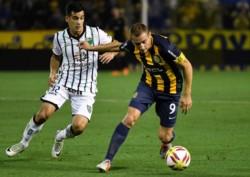 Rosario Central venció a San Martín con un golazo de Parot cuando se iniciaba el complemento para ponerse al día en la Superliga.