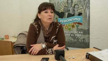 Lorena Marín,  secretaria de Cultura, Turismo y Deportes de Rawson.