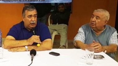 Héctor González en uno de los encuentros compartidos con Gamboa.