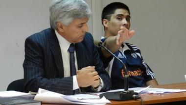 Juan Brian Petrillan cuando fue condenado por apuñalar a su exmujer.