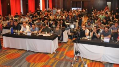 Durante la apertura hubo una gran participación de delegados de Chubut, Santa Cruz y Tierra del Fuego.