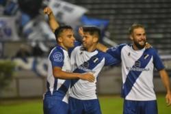 Dominador en el juego y el marcador casi desde el inicio, Alvarado mostró credenciales sólidas con vistas a su futuro en el Federal A. (Foto: Juan Miguel Alvarez).