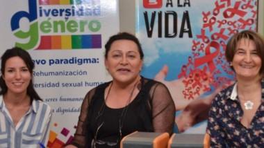 La directora de Diversidad y Género de Trelew, Nadia Zúniga, brindó  detalles de las actividades.