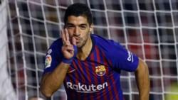 Suárez marcó un doblete en la victoria del