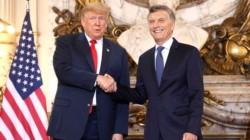 Macri con Trump en Casa Rosada: