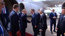 El presidente de la Federación Rusa, Vladimir Putin, llegó al país para participar de la cumbre del G20.
