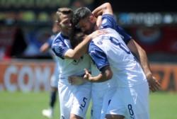 Gigliotti está imparable. Viene de convertirle dos a Argentinos y lleva 11 en el torneo. Hoy quiere seguir de racha.