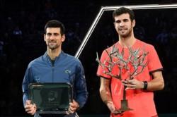 El ruso superó al flamante N° 1 y consiguió en la capital francesa su primer título de Masters 1000.