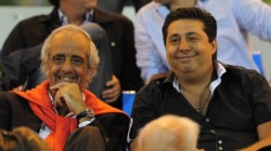 D'Onofrio y Angelici en la mismo lado sobre el público visitante en la Libertadores:
