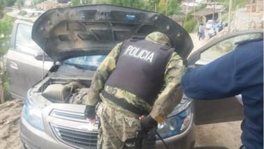 El allanamiento se llevó a cabo en el barrio Ceferino de Esquel.
