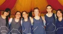 Las cinco maestras que recibieron condenas de entre cuatro y casi ocho años de prisión por los maltratos propinados a niños en el jardín Tribilín, del partido de San Isidro.