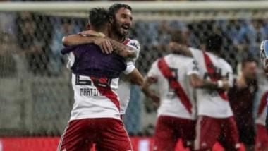 River es el primero en la historia de la Libertadores que remonta (para ganar) un resultado adverso visitando a Gremio.
