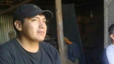 Víctima. Alcides Roberto Leviú (27) era hijo de familias de Esquel.