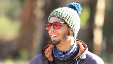 """Ezequiel Bassanesse, de 24 años, cayó de una importante altura mientras escalaba el cerro en la zona conocida como """"Supercanaleta""""."""