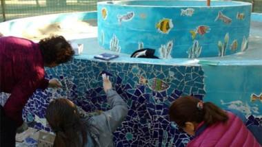 La fuente lucirá pronto para vecinos y turistas.
