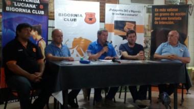 Bigornia Club firmó un convenio, a través de su presidente Carlos Lorenzo, con el Instituto Cardiovascular.