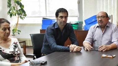 Protagonistas. Gianardo, Arnaudo y Prior explicaron cómo marcha la pesquisa del presunto fraude.