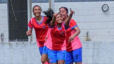 El combinado femenino Sub 14 se encuentra en el umbral de la victoria en la fase nacional de la Liga de Desarrollo de Conmebol.