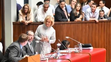 A cargo. José Grazzini pasó a la Presidencia de la Cámara y el FpV quedó en la línea de sucesión del poder.