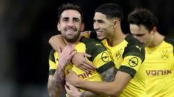 Paco Alcácer lleva 10 goles en el Borussia Dortmund, invictos en 13 juegos de Bundesliga, nadie lo tumba de la punta.