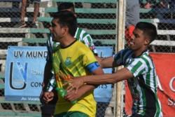 En septiembre, Germinal y La Ribera igualaron 1-1 en El Fortín, por la Zona 1 del Clausura de la Liga del Valle.