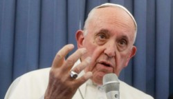 El Papa está