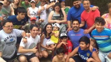 Todos juntos, el rugby inclusivo y el zumba despidieron el año el domingo en instalaciones de La Española.