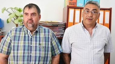 LLamado de atención. EChegaray (izquierda) y Prato explicaron qué se hizo ante el descuento sin permiso.