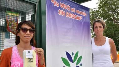Carla Vernetti, del área Adicciones de la Municipalidad de Trelew, diálogo con Jornada sobre la campaña.