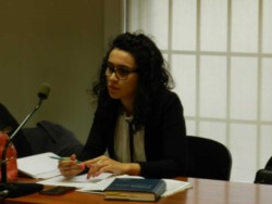 Anya Puchetta, funcionaria de Fiscalía