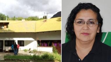 Sede conflictiva. La Casa Estudiantil, sede de los graves hechos que denunció Nancy Márquez (derecha).