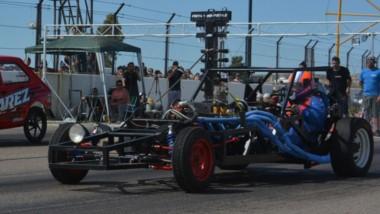 """La recta principal del autódromo """"Mar y Valle"""" de Trelew volvió a recibir el campeonato de Picadas."""