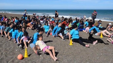 Los niños de jardines municipales de Rawson realizaron distintas actividades como cierre del año 2018.