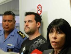 Fiscales y policías confirmaron el hallazgo del cuerpo